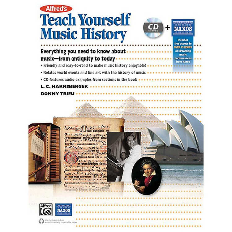 Alfred Alfred's Teach Yourself Music History Book & CD