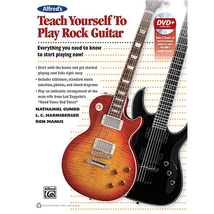 Alfred Alfred's Teach Yourself Rock Guitar Book & DVD