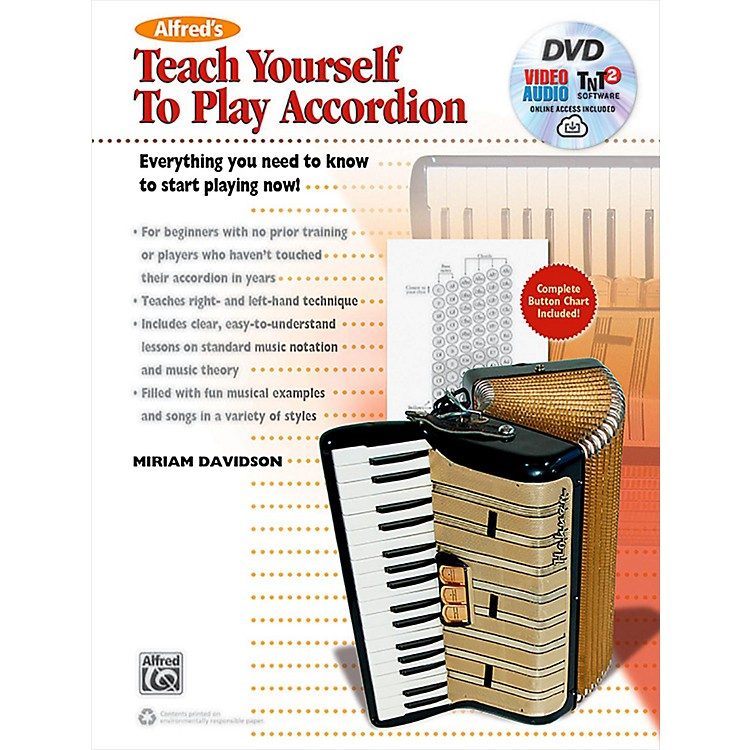 AlfredAlfred's Teach Yourself to Play Accordion: Book, DVD & Online Audio, Video & Software