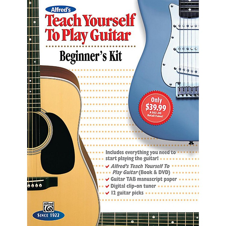 AlfredAlfred's Teach Yourself to Play Guitar: Beginner's Kit