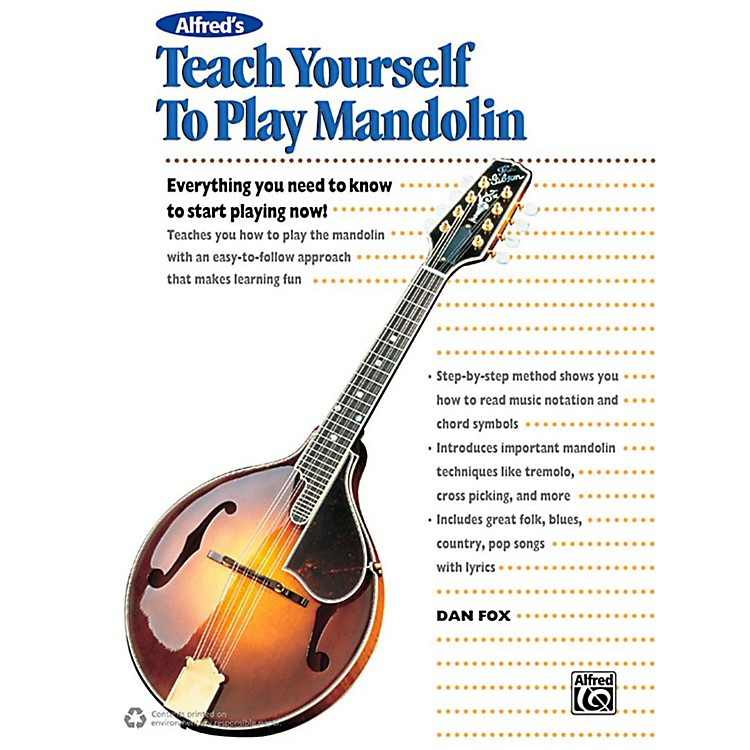 Alfred Alfred's Teach Yourself to Play Mandolin Book, CD & DVD