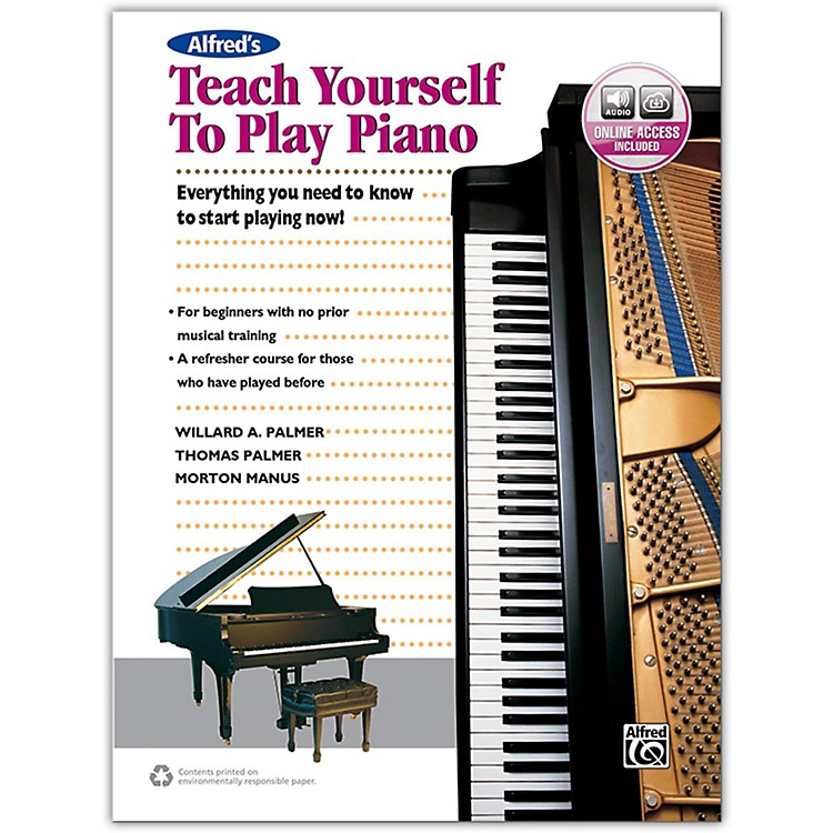 AlfredAlfred's Teach Yourself to Play Piano - Book & Online Audio