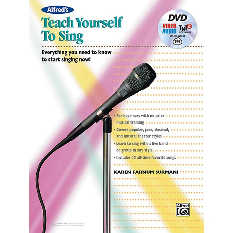 AlfredAlfred's Teach Yourself to Sing Book, DVD & Online Audio, Video & Software