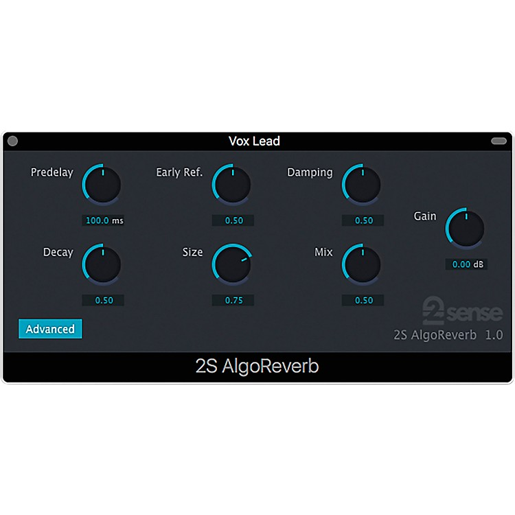 2nd Sense AlgoReverb Software Download