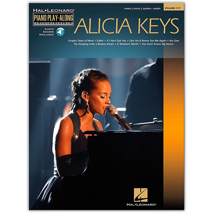 Hal LeonardAlicia Keys - Piano Play-Along Volume 117 Book/CD
