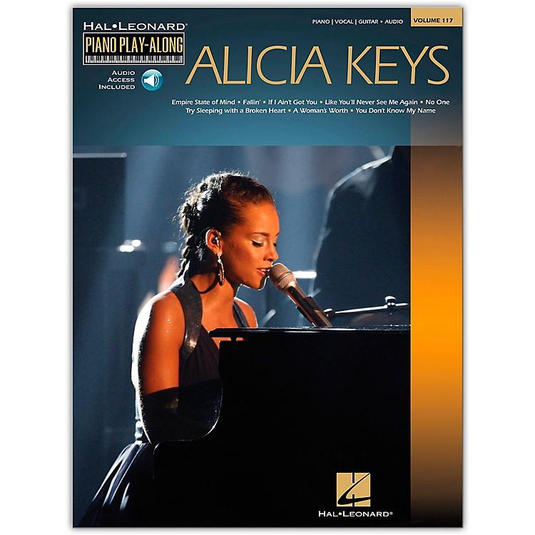 Hal LeonardAlicia Keys - Piano Play-Along Volume 117 (Book/Online Audio)