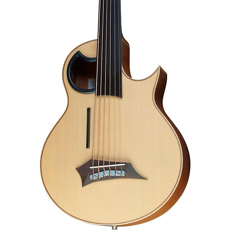 WarwickAlien 6-String Fretless Acoustic-Electric BassNatural Hi Polish