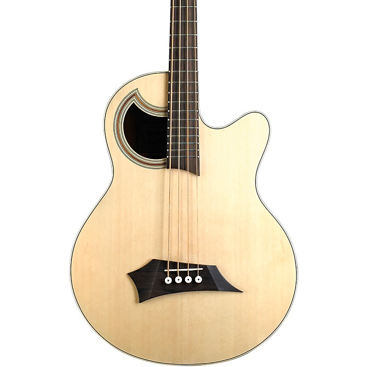 WarwickAlien Deluxe 4-String Acoustic-Electric BassNatural Hi Polish