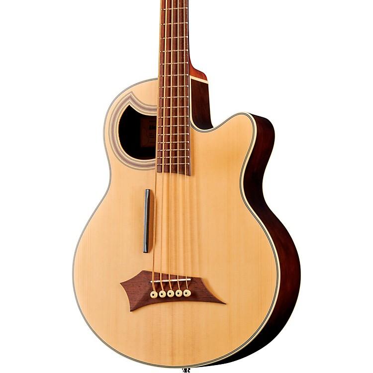WarwickAlien Deluxe 5-String Acoustic-Electric BassNatural Hi Polish