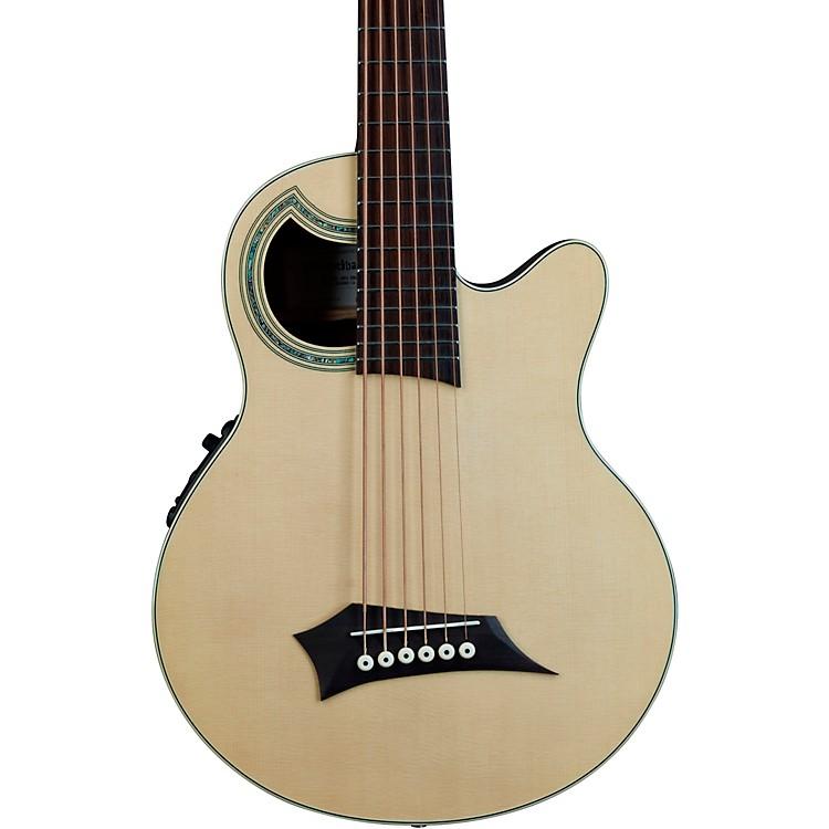 WarwickAlien Deluxe 6-String Acoustic-Electric BassNatural Hi Polish