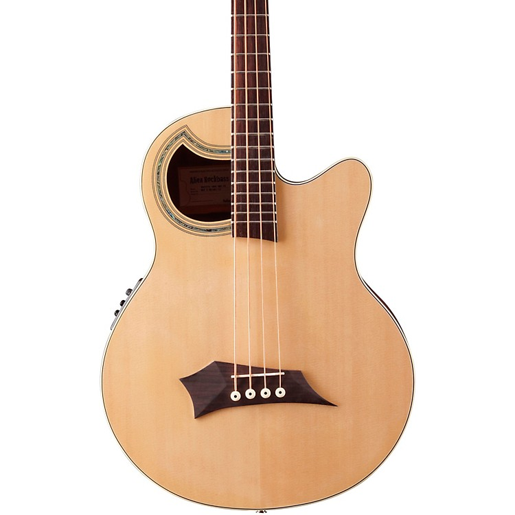 Warwick Alien Standard 4-String Acoustic-Electric Bass Natural Hi Polish