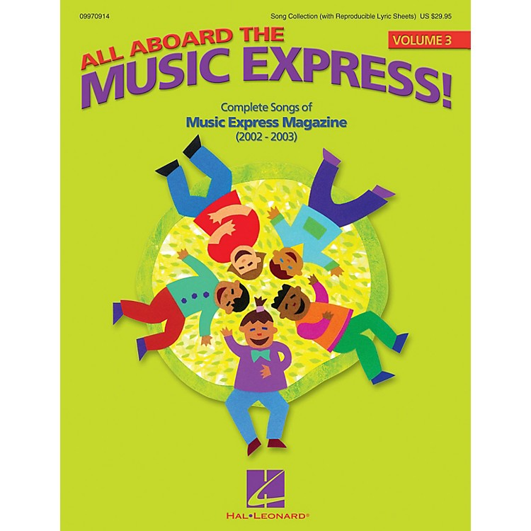 Hal Leonard All Aboard the Music Express Vol. 3 ShowTrax CD Arranged by John Jacobson