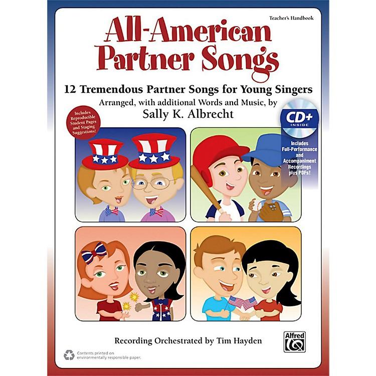 AlfredAll-American Partner Songs CD Kit Book & Enhanced CD