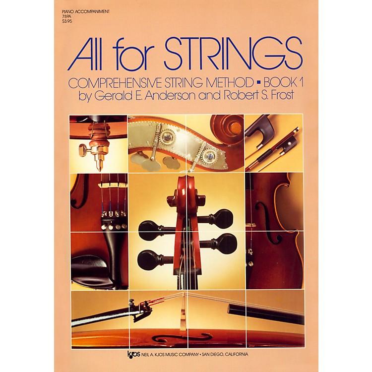 KJOSAll For Strings 1 Piano Accomp