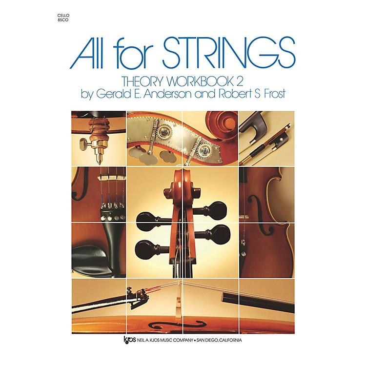 KJOSAll For Strings 2 Theory Workbook Cello