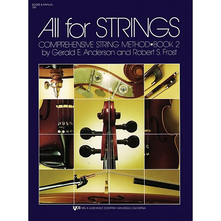 KJOSAll For Strings Book 2 Score