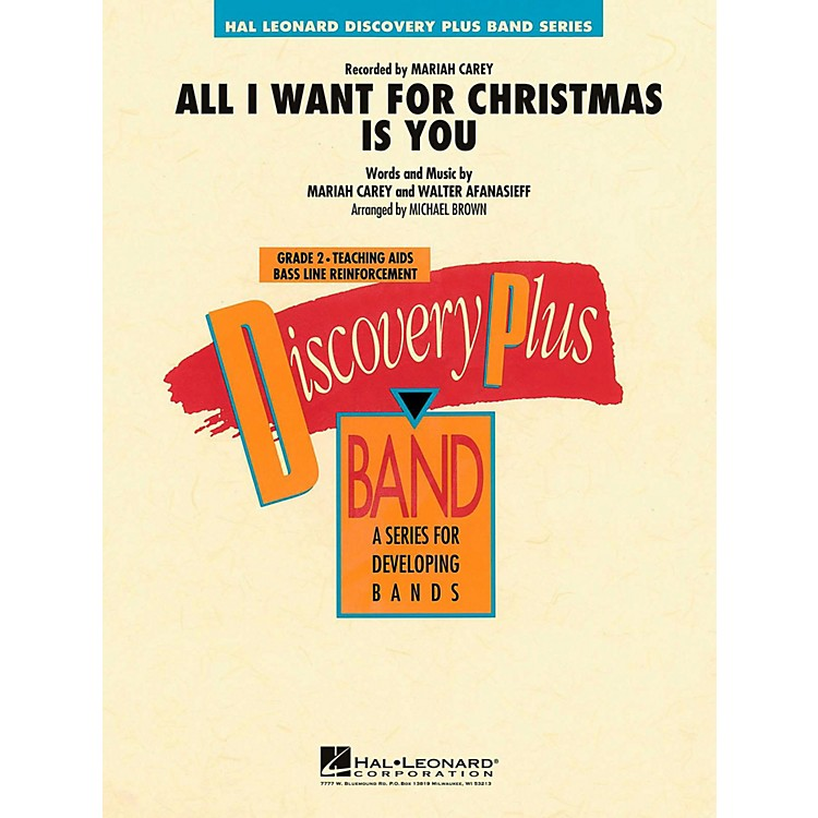 Hal LeonardAll I Want For Christmas Is You Concert Band Level 2
