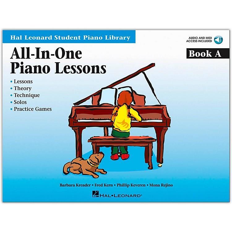 Hal LeonardAll-In-One Piano Lessons Book A Book/CD Package Hal Leonard Student Piano Library