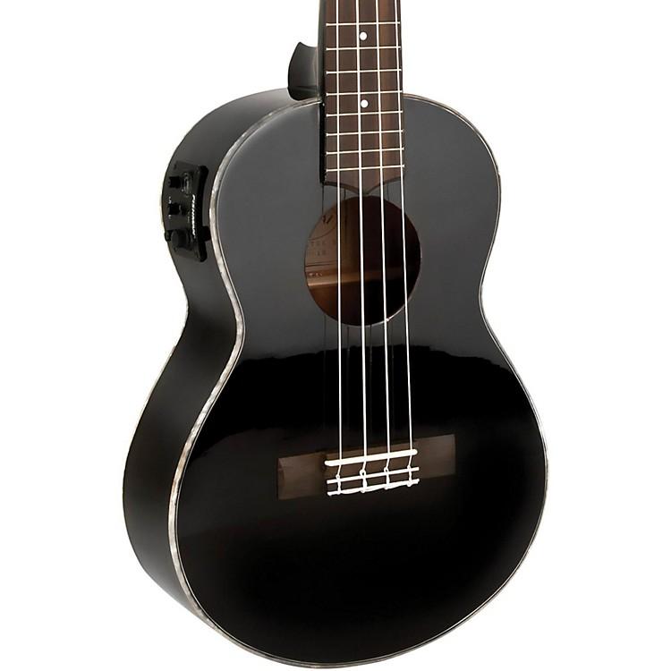 LanikaiAll Mahogany Acoustic-Electric Concert UkuleleGloss Black