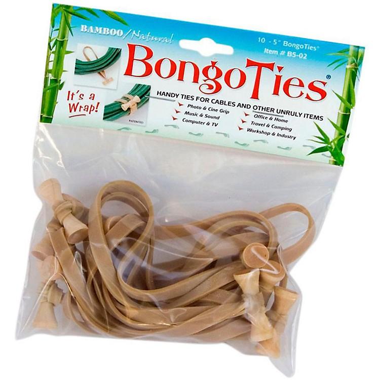 BongoTiesAll-Purpose Tie WrapsBamboo and Natural Rubber