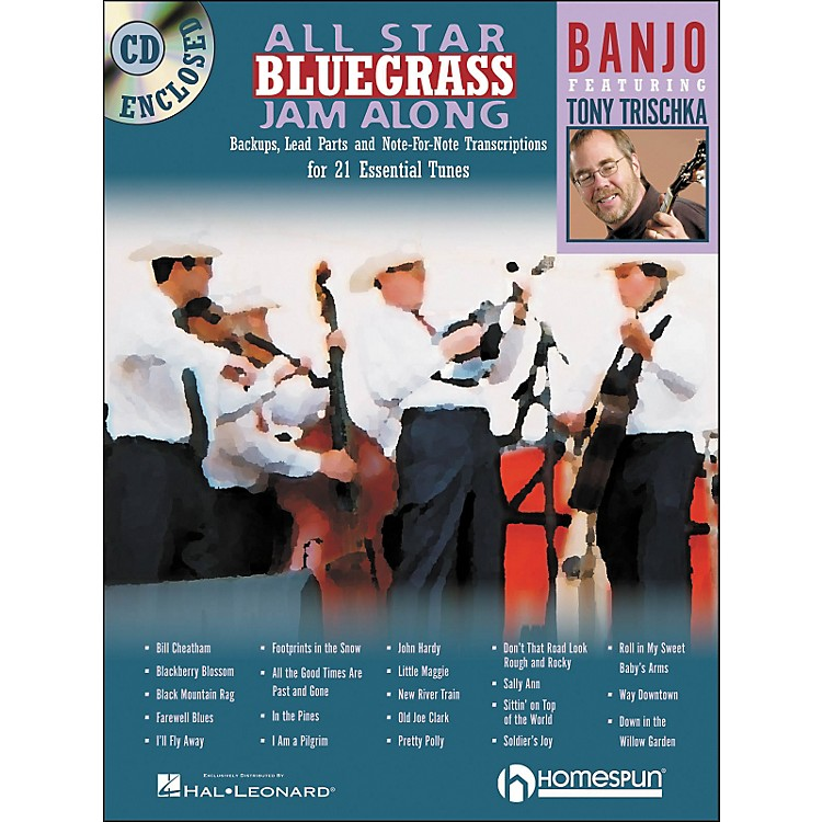 HomespunAll Star Bluegrass Jam-Along for Banjo Book/CD