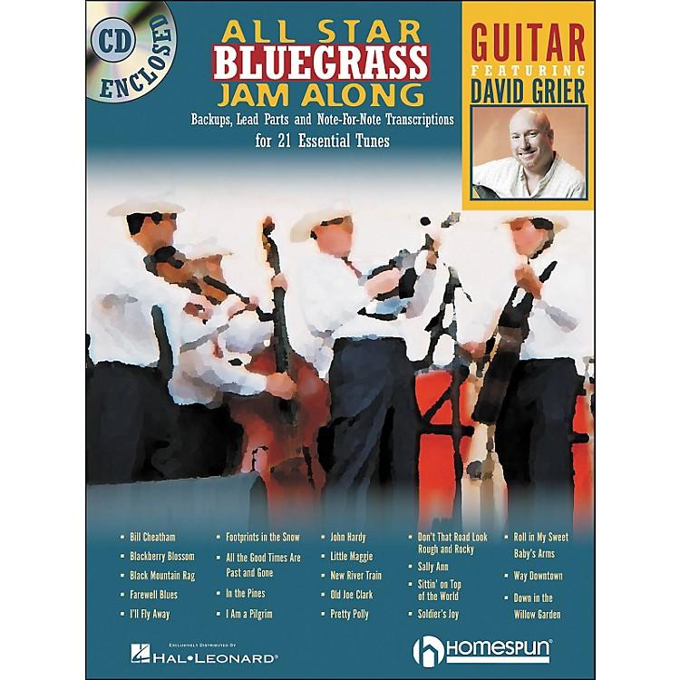 HomespunAll Star Bluegrass Jam-Along for Guitar Book/CD