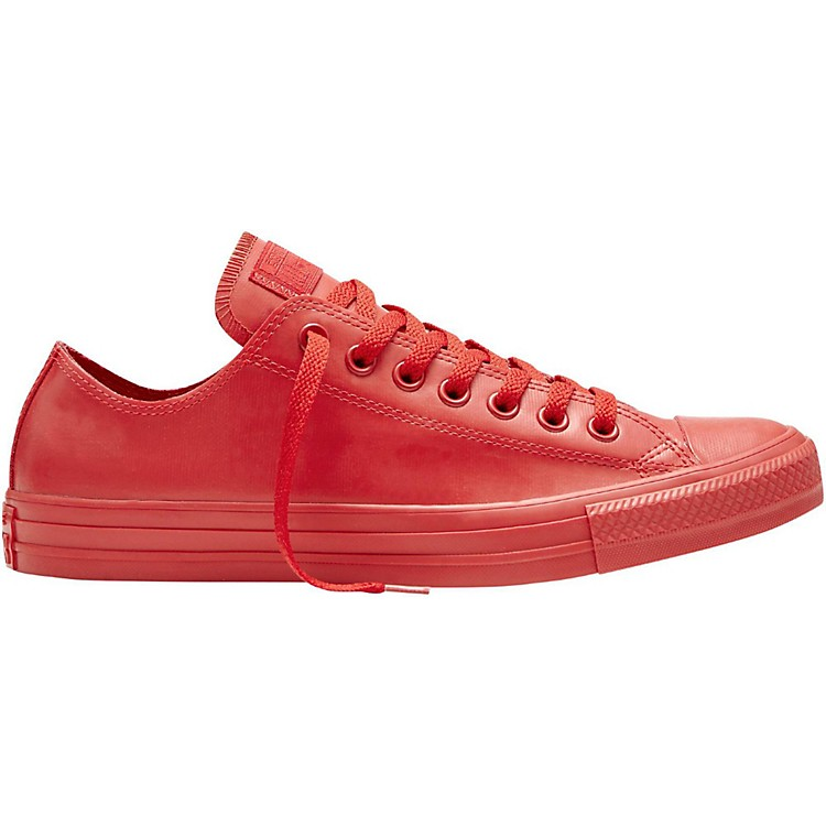Converse All Star Low Top Rubber - Red 8
