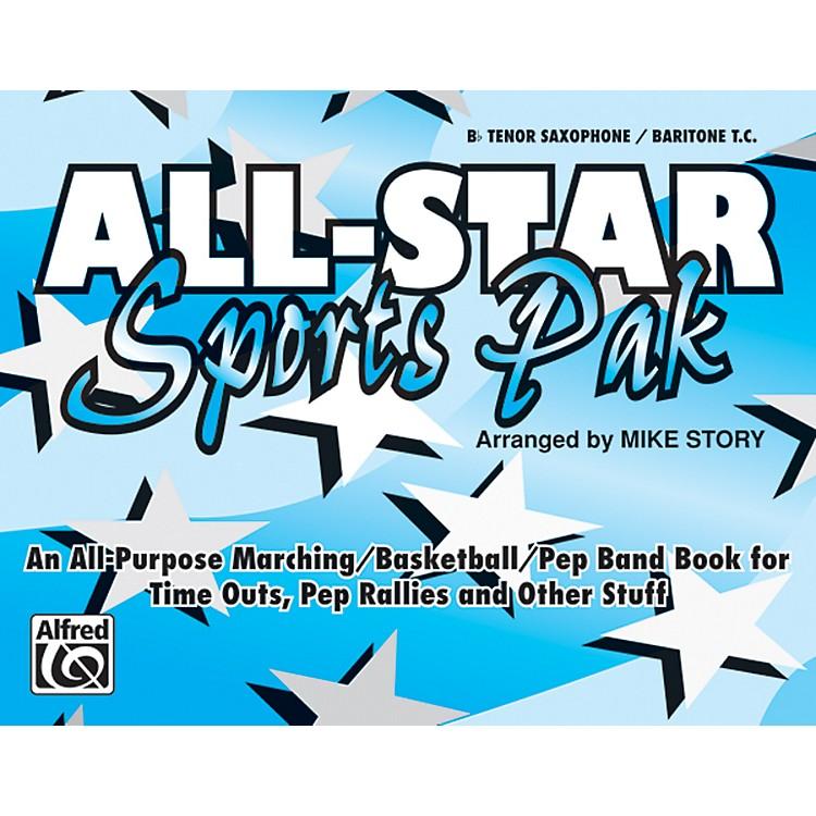 AlfredAll-Star Sports Pak B-Flat Tenor Saxophone/Baritone T.C.