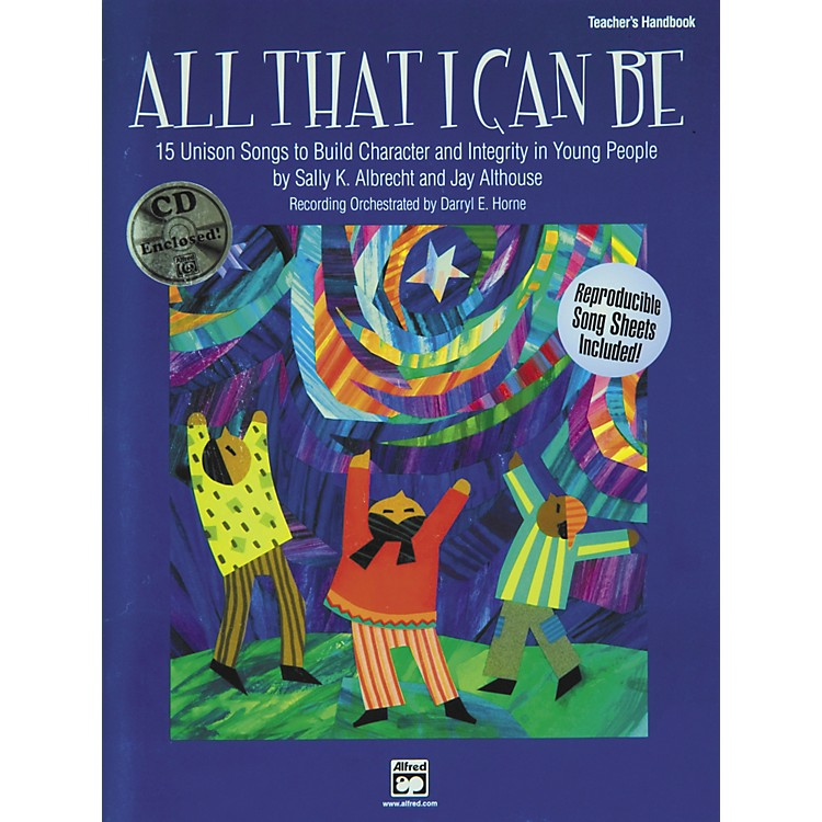 AlfredAll That I Can Be Book/CD
