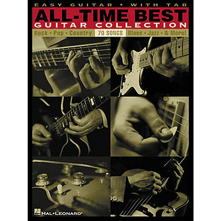 Hal LeonardAll-Time Best Guitar Collection Easy Guitar Tab Songbook