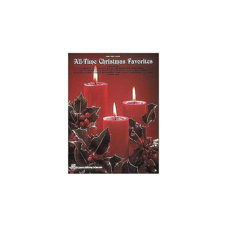Hal Leonard All-Time Christmas Piano, Vocal, Guitar Favorites