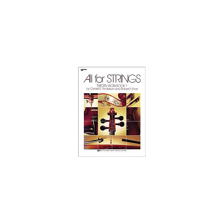 KJOSAll for Strings 1 Theory Workbook String Bass