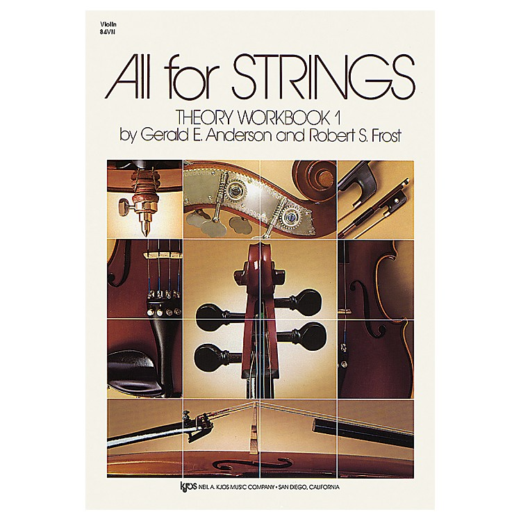 KJOS All for Strings Theory Workbook 1 Violin