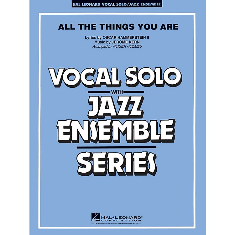 Hal LeonardAll the Things You Are Jazz Band Level 4 Arranged by Roger Holmes