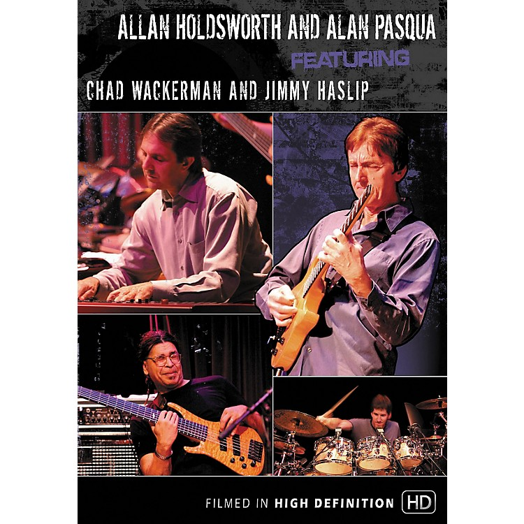 Hal Leonard Allan Holdsworth and Alan Pasqua Live At Yoshi's (DVD)