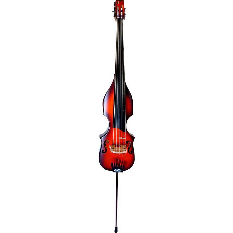 BSX Bass Allegro 5-String Acoustic-Electric Upright Bass Nutmeg
