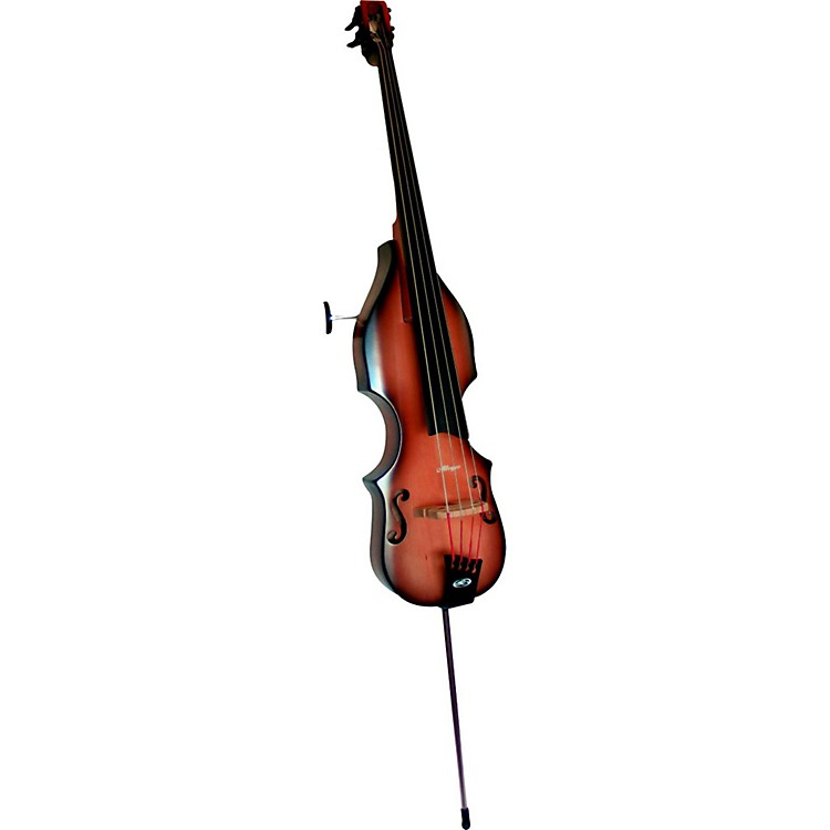 BSX Bass Allegro Acoustic-Electric Upright Bass Nutmeg
