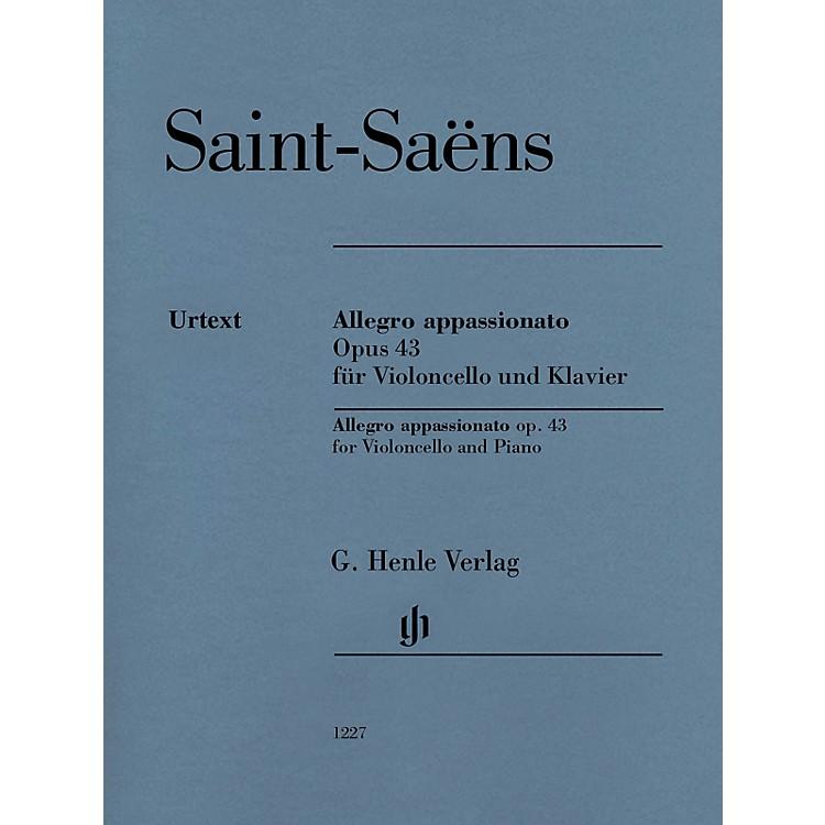 G. Henle VerlagAllegro Appassionato Op. 43 (for Cello and Piano) Henle Music Folios Series