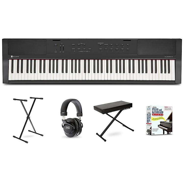 WilliamsAllegro III Keyboard Beginner Package