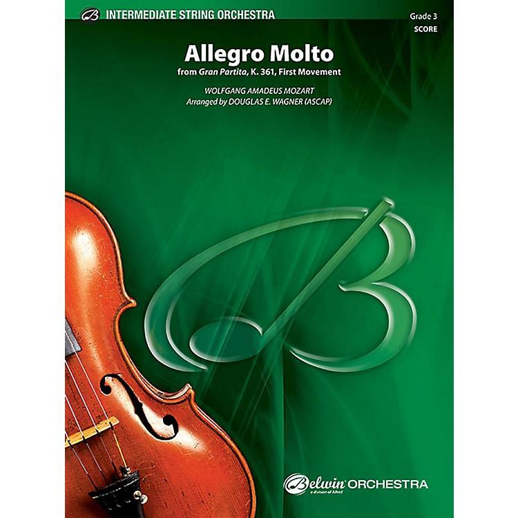 AlfredAllegro Molto String Orchestra Grade 3 Set
