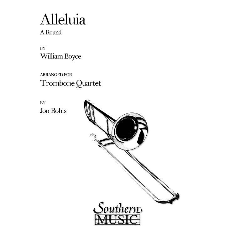 SouthernAlleluia (A Round) (Trombone Quartet) Southern Music Series Arranged by Jon Bohls