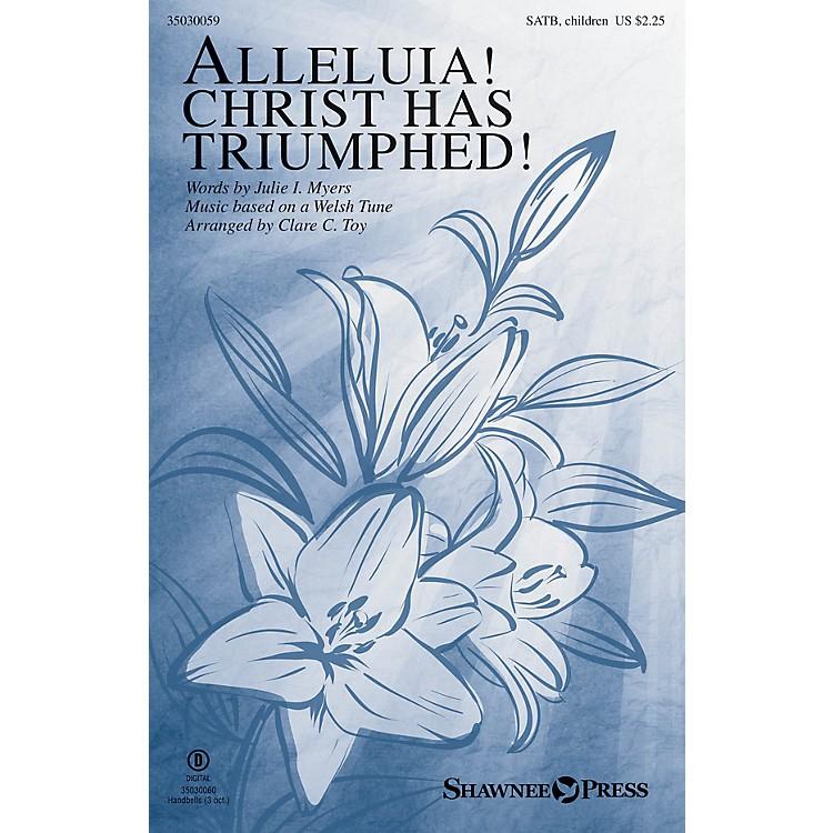 Shawnee PressAlleluia! Christ Has Triumphed! SATB/CHILDREN'S CHOIR arranged by Clare C. Toy