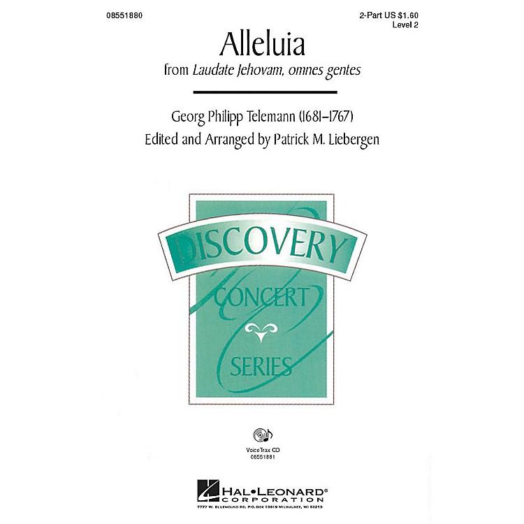 Hal LeonardAlleluia (from Laudate Jehovam, omnes gentes) VoiceTrax CD Arranged by Patrick M. Liebergen