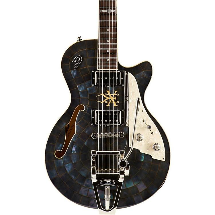 Duesenberg USAAlliance Soundgarden Black Hole Sun Semi-Hollow Electric GuitarMother of Pearl