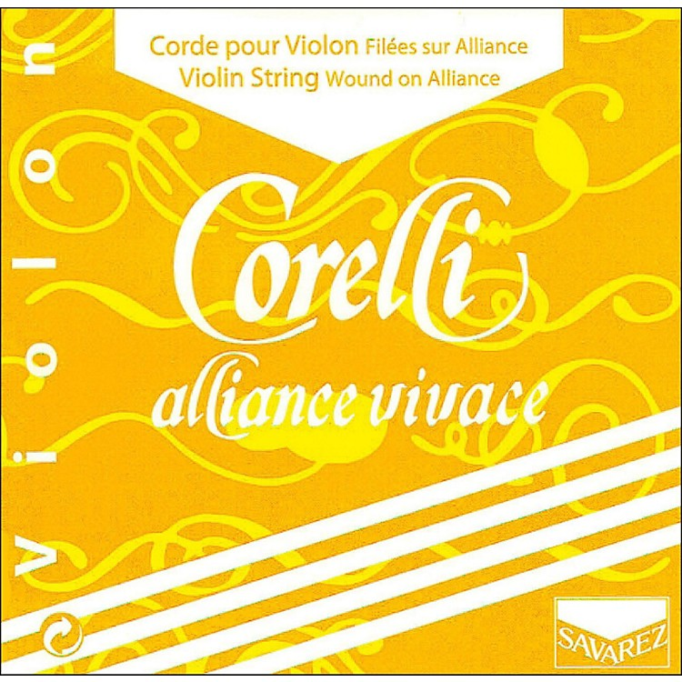 Corelli Alliance Vivace Violin A String 4/4 Size Medium Loop End