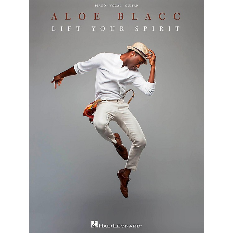 Hal Leonard Aloe Blacc - Lift Your Spirit Piano/Vocal/Guitar Songbook