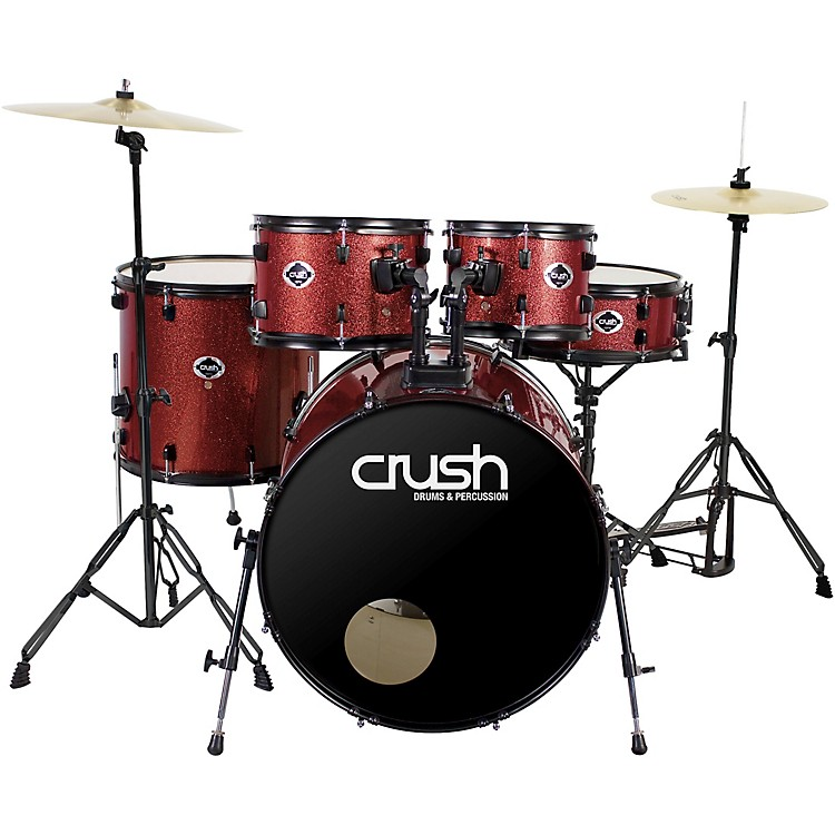 Crush Drums & PercussionAlpha Complete 5-Piece Drum Set with 22