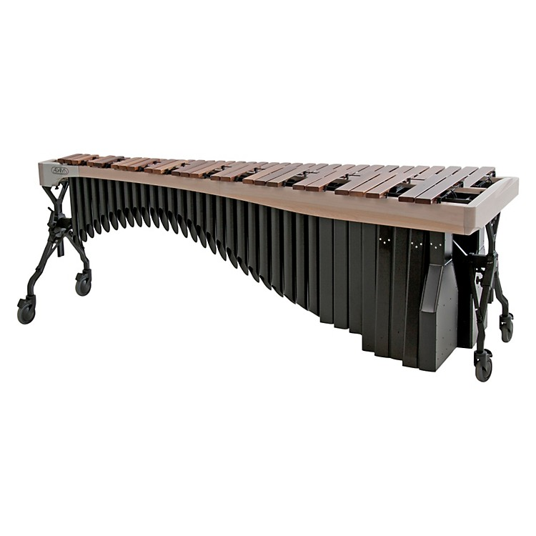 Adams Alpha Series 4.3 Octave Rosewood Marimba with White Wash Rails Black Resonators