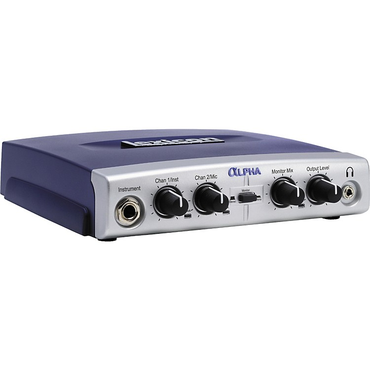 Lexicon Alpha USB Desktop Recording Studio  888365911885