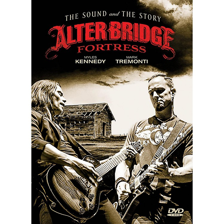 Fret12Alter Bridge - Fortress: The Sound And The Story - Book/2-DVD Set